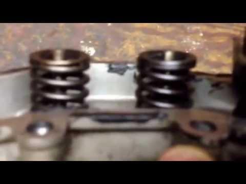 Kohler courage engine weak starter compression release valve head repair.