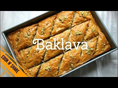 Baklava  - A Delicious Dessert Make Simple and Easy