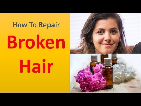 How to Repair Broken Hair with Products You have in your own home