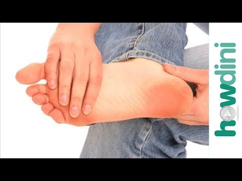 How to treat sore feet