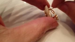 Adjusting these clip type earring back for pierced ears