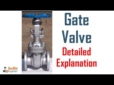 Gate Valve and Types of Gate Valve - A detailed Explanation