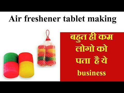 Odonil Type Air Freshener making