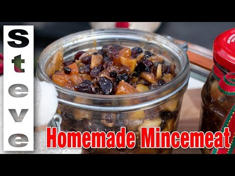 HOW TO MAKE MINCEMEAT - Great Christmas Recipe
