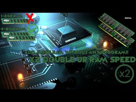 How To Updgrade Ur RAM By Adding Virtual Memory And Increase Gaming Performance
