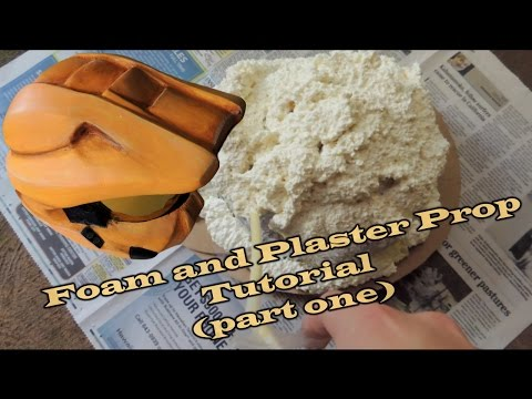 Foam and Plaster Prop Tutorial (part one)