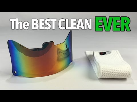 How to CLEAN YOUR VISOR | The 3 Best Ways