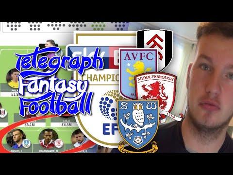My Telegraph Fantasy Football Team!!