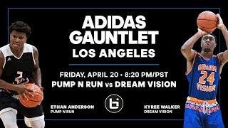 adidas Uprising 2018 - Pump N Run vs Dream Vision ft Kyree Walker