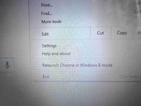 Windows 8 how to remove second Google toolbar from Desktop Fix