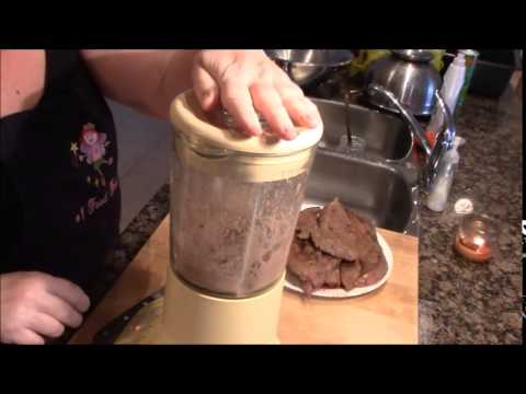 Beef liver pate with Bacon and Rosemary