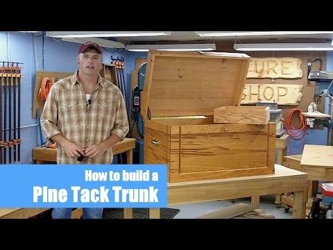 Tack Trunk Woodworking Project | Introduction