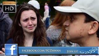 P1 - Tears of Faith? Mansur vs Christian Girl | Speakers Corner | Hyde Park