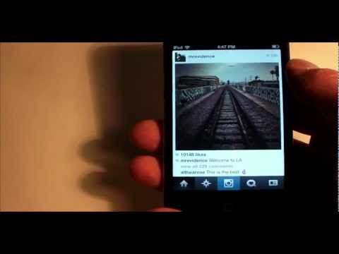 How To Save Instagram Photos to Your iOS Device - Free Cydia Jailbreak Tweak - iPhone, iPod, iPad