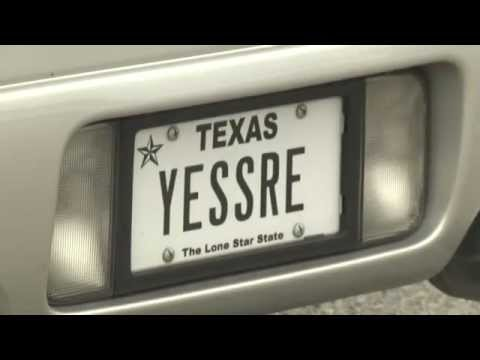Texas DMV rejects hundreds of tacky tags