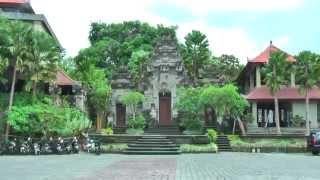 Museum Puri Lukisan in Ubud is the oldest art museum in Bali (Indonesia)