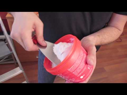 How to patch holes or scratches on paint walls!