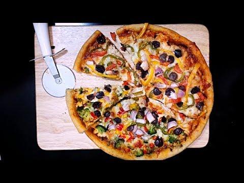 Thin Crust Wheat Pizza Recipe | Pizza dough | Pizza sauce