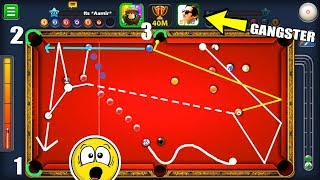 The CRAZIEST 8 Ball Pool Match In HISTORY [3 Balls in 1 Shot] INSANE