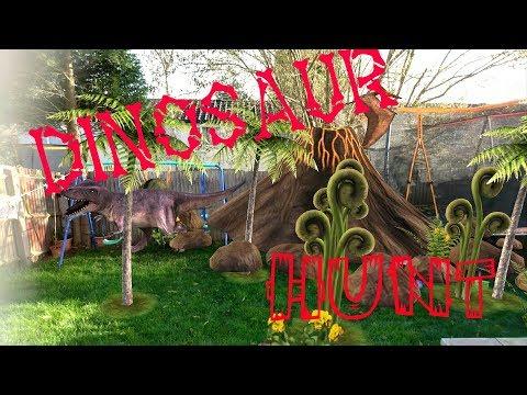 Dinosaur fossil hunt