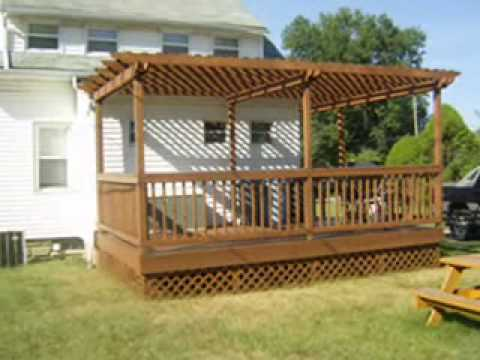 Deck with Pergola/Arbor construction