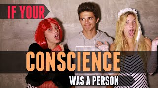 If Your Conscience Was A Person (w/ Lele Pons)   Brent Rivera