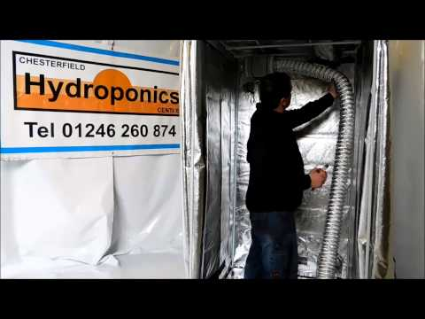 How To Build A Hydroponics Tent   2 of 3