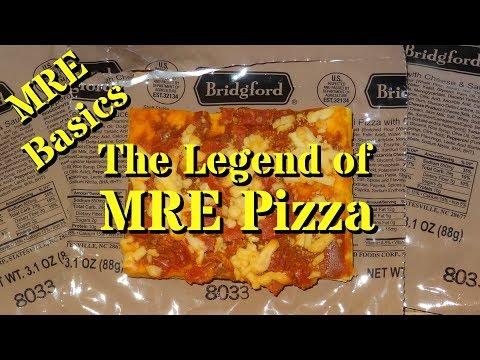 MRE Basics: The Legend of MRE Pizza!