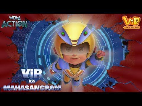 Xxx Mp4 Vir Ka Mahasangram Vir The Robot Boy Action Movie WowKidz Action 3gp Sex