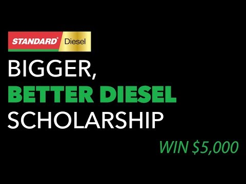 2019 Standard 'Bigger, Better Diesel' Scholarship Contest