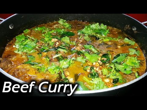 Kerala Style Beef Curry | Pressure Cooker Beef Curry