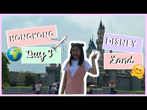 HONGKONG DAY 3: HAPPIEST PLACE ON EARTH! DISNEYLAND! | PHILIPPINES | Janella Martin