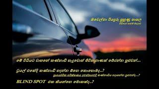 How to adjust mirrors easily | ලේසියෙන්ම වාහනේ කණ්නාඩි හදාගන්නෙ මෙහෙමයි | Ovelga Driving School