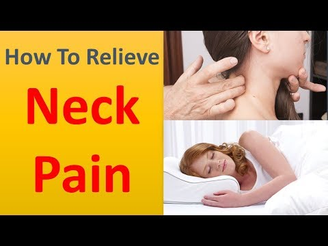 How to Relieve Neck Pain|Have patience and rest