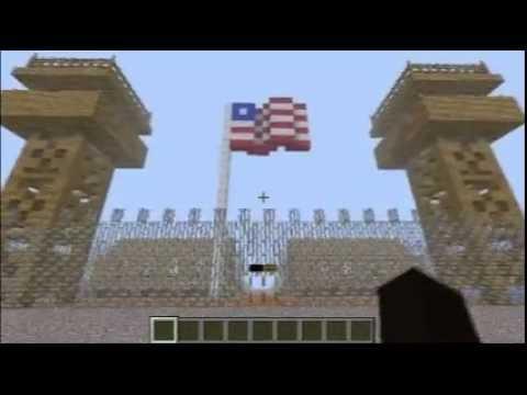 Minecraft - Manzanar World War II Internment Camp