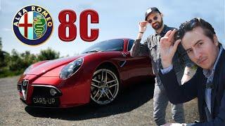 LA LARME A ÉTÉ VERSÉE : Essai de l'Alfa Romeo 8C Competizione