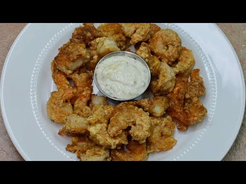 Texas Fried Shrimp with Old Man Cooking