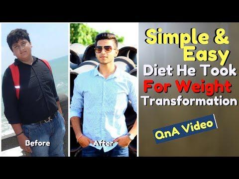 Inspiring Weight Loss Transformation QnA | Start | Diet | Routine |