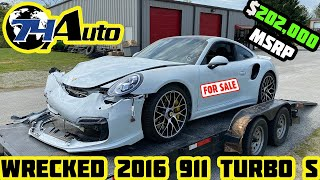 I BOUGHT A WRECKED 2016 PORSCHE 911 TURBO S BUT I NEED TO SELL IT