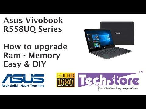 Asus Vivobook R558UQ : How to upgrade ram memory easy & DIY