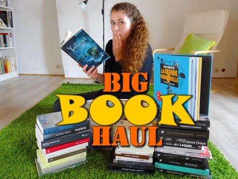 [BIG BOOK HAUL] Septembre 2016 (36 livres !)