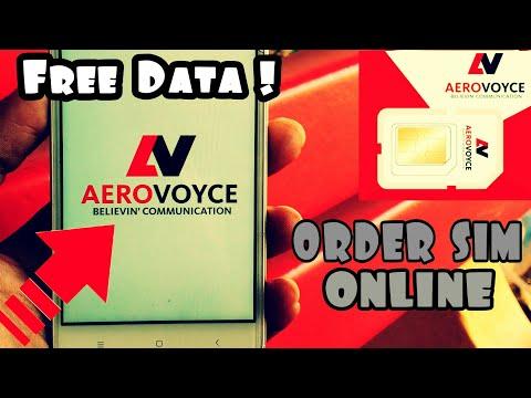 Aerovoyce: How to Order Aerovoyce Sim Card Online   MVNO
