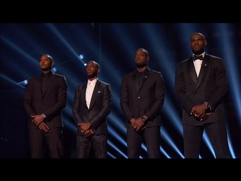 LeBron James, Carmelo Anthony and Dwayne Wade Make Plea To End Police Brutality
