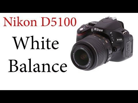 Nikon D5100: White Balance and ADL Bracketing