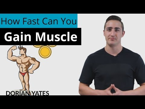 How Fast Can You Gain Muscle? (6 Important Factors)