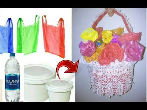 Best with waste - Flower bouquet making with carry bags and disposable box