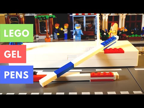 Lego Gel Pens Review