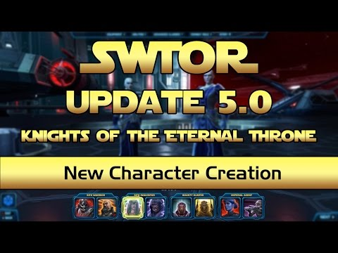 SWTOR - New Character Creation Options - Update 5.0