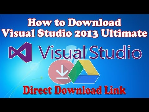 How to Download Visual Studio 2013 Ultimate Free..100% Working