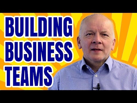Business Management & Administration - How To Develop A Top Team